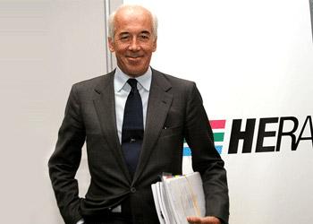 Il Presidente Esecutivo del Gruppo Hera Tomaso Tommasi di Vignano.