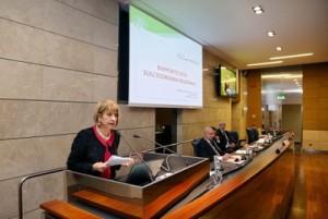 L'assessore regionale alle Attività Produttive Palma Costi