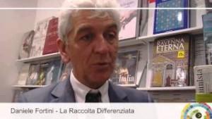 Daniele Fortini, autore del libro, è presidente dell'Ama di Roma, già presidente di Federambiente (immagine tratta da Youtube).