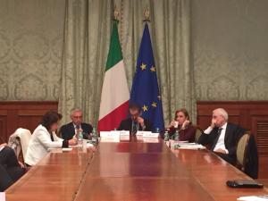 La presentazione del Rapporto #ItaliaSicura dello scorso 18 febbraio.