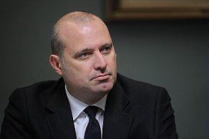 Stefano Bonaccini - presidente della Regione Emilia-Romagna alla  prima seduta Assemblea Legislativa X Legislatura