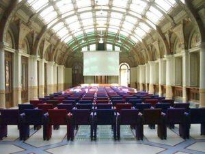 L'Auditorium Biagi alla sala Borsa (foto tratta da Bolognawelcome.it)