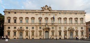 Il palazzo sede della Consulta (immagine tratta da Wikipedia).